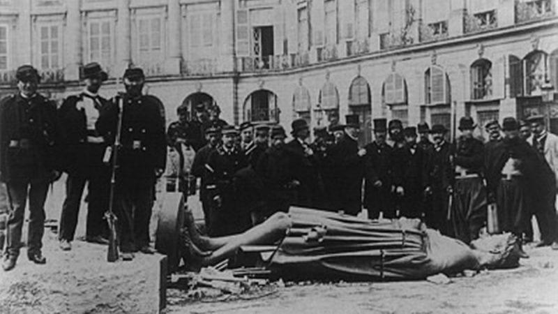 揭開巴黎公社的真相就像砸了共產主義者祖宗牌位一樣,不過他們就是流氓呀