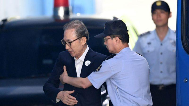 健康不佳 韩前总统李明博获准交保
