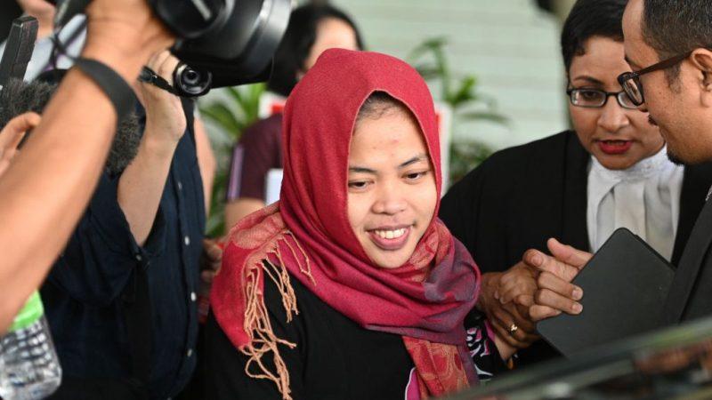 谋杀金正男案大逆转 印尼女嫌被当庭释放