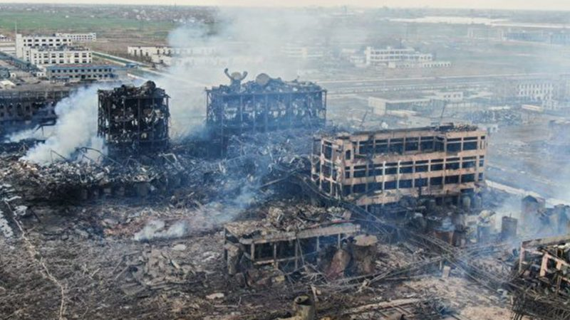 江苏特大爆炸近700人死伤 53人获刑 高官免罪