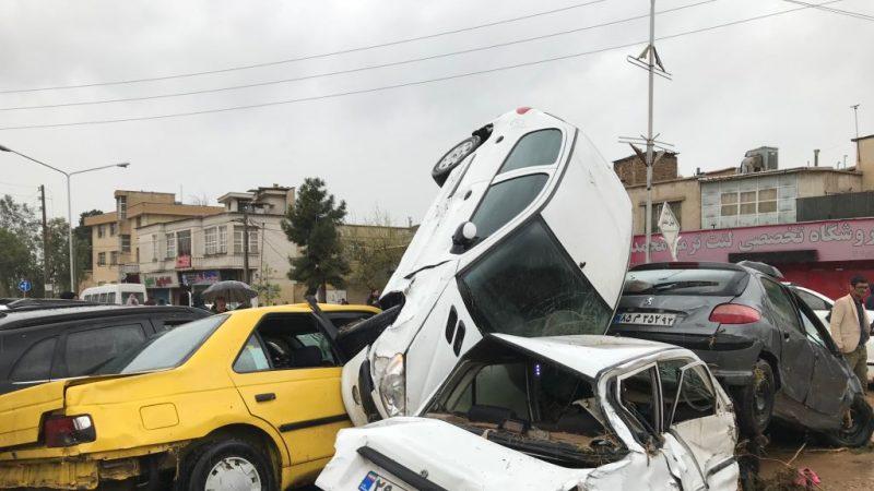 史无前例大洪水 伊朗已酿19死近百伤(视频)