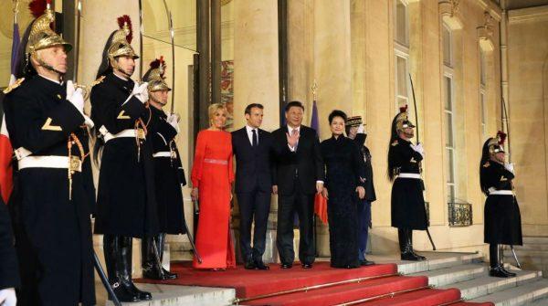 """巴黎地铁官方通告惊现意外 称习近平""""中华民国总统"""""""