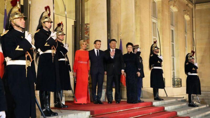 巴黎地鐵官方通告驚現意外 稱習近平「中華民國總統」