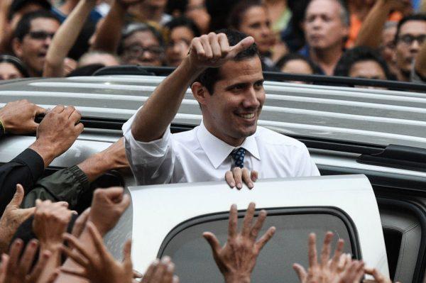 馬杜羅下令禁任公職15年 瓜伊多:阻止不了我們