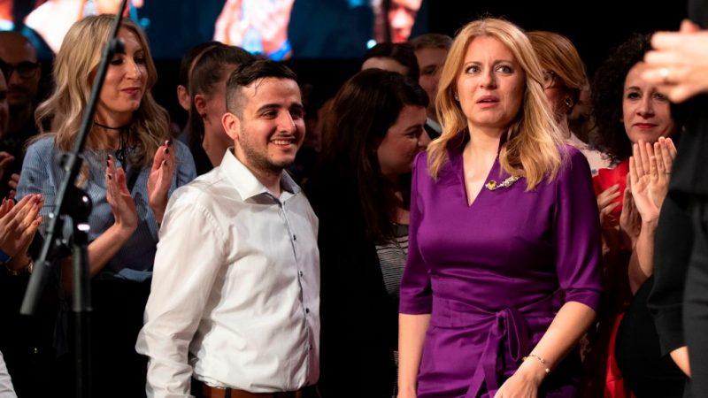 反腐亲欧 斯洛伐克选出首位女总统