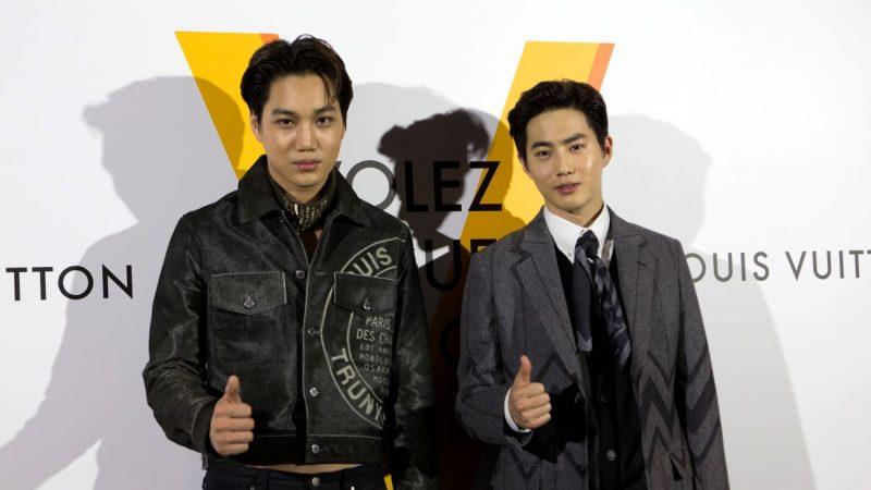 EXO《爬梯子》在台慶功 雙帥秀台語會粉絲