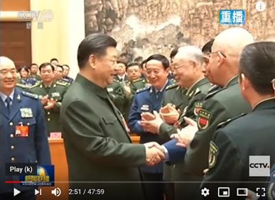 习近平与江泽民大秘握手镜头被特别剪掉 央视新闻联播释何信号(视频)