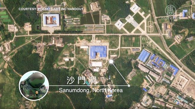 卫星捕捉朝鲜发射场新动向 金正恩又要射导弹?