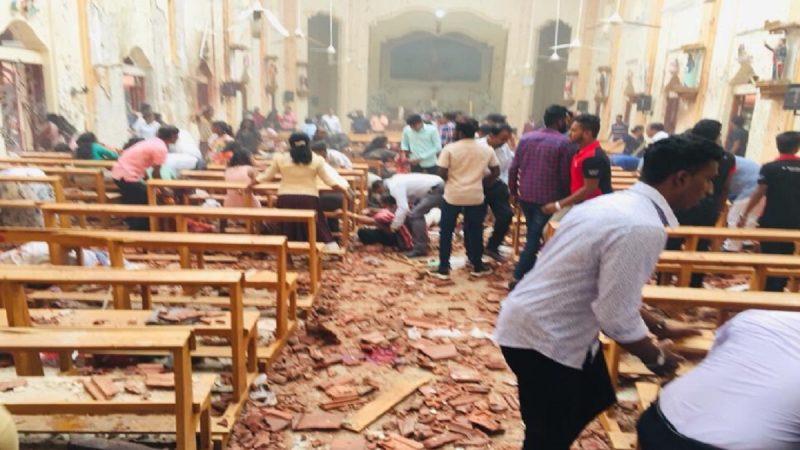 斯里兰卡连8起爆炸 至少187死逾400伤