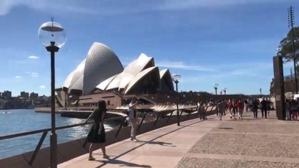 悉尼歌剧院工程 挖破瓦斯管紧急疏散500人