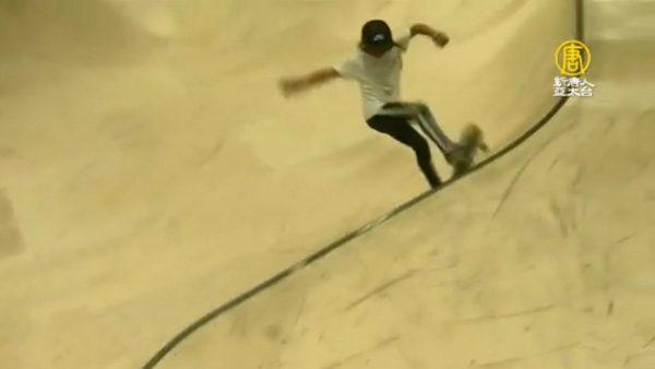 英國10歲小滑板手 有望成最年輕奧運選手