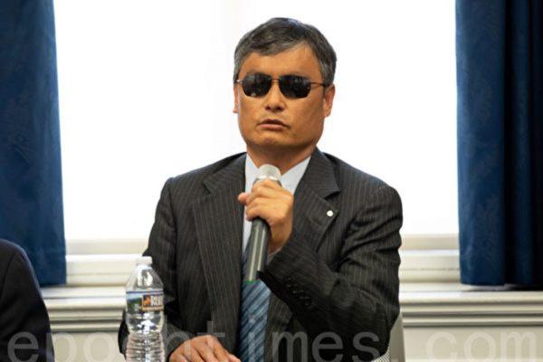 陳光誠:美國對共產邪惡的認識正從高層走向民間