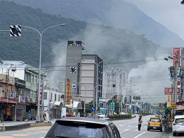 (更新)天摇地动 台湾花莲6.1地震 铜门7级