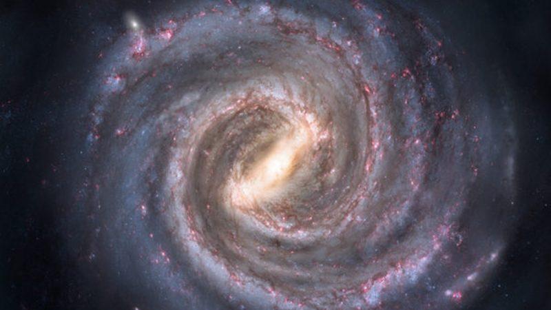 銀河系外圍正在產生大量新恆星