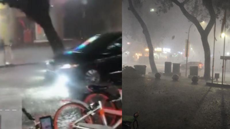 深圳遭罕見暴雨冰雹襲擊 至少4人遇難7人失蹤