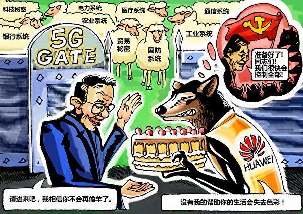漫畫:中共製作的蛋糕