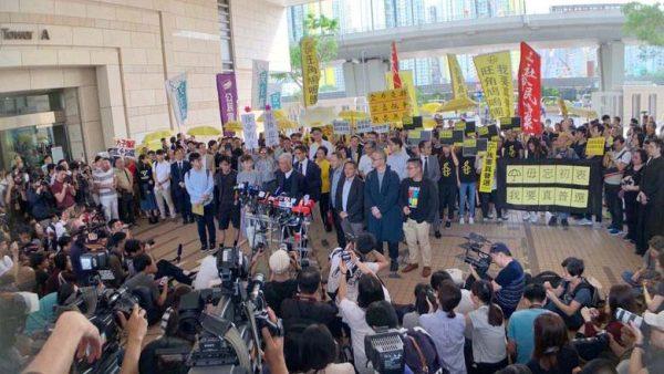 香港佔中9子全部判罪 國際社會紛表關注