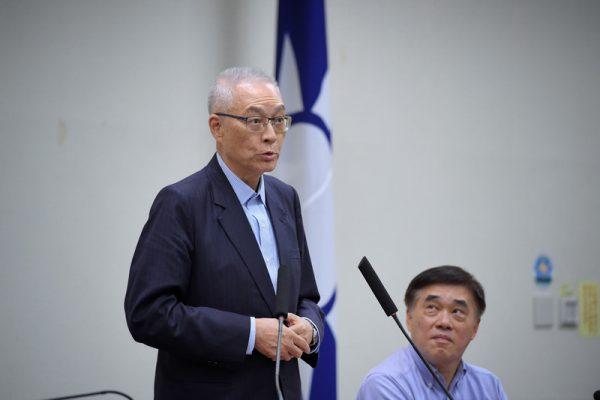 吴敦义无意选总统 重启与朱王韩会面安排