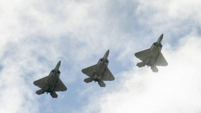 回應突發能力 美空軍舉行「彈性颱風」演習