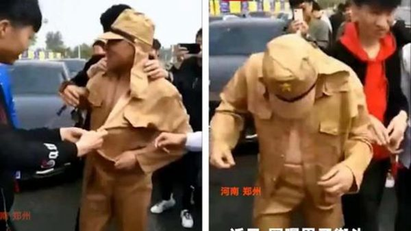 河南男子迎亲穿日本军服惹祸 6人被抓捕