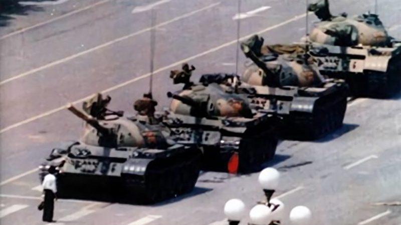 """""""六四""""30周年临近 抖音惊现致敬坦克人影片(视频)"""