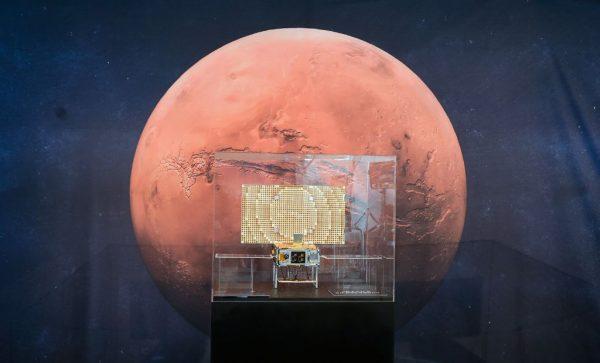 """倾听火星""""心跳"""" 洞察号侦测微弱地震"""