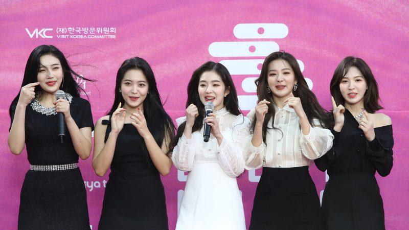韩U+5G TMA颁奖礼 Red Velvet预告:夏天见