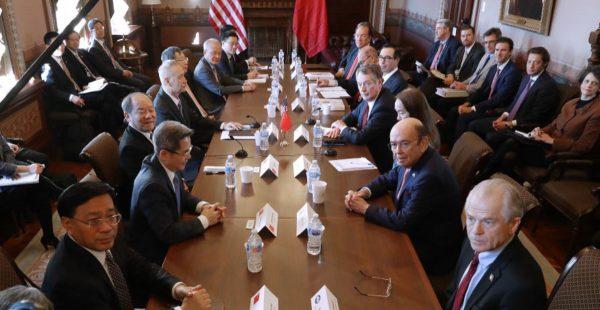 【禁闻】川普:2000亿美元中国商品关税升至25%