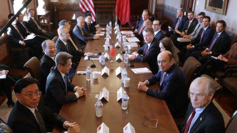 美媒:貿談仍有兩大棘手問題 若無進展後果嚴重