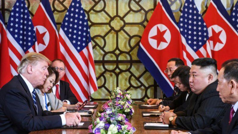 韩媒:川普提五项草案 金正恩面红耳赤