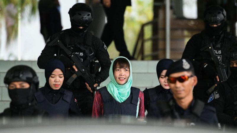 金正男毒杀案 越籍女嫌或5月获释