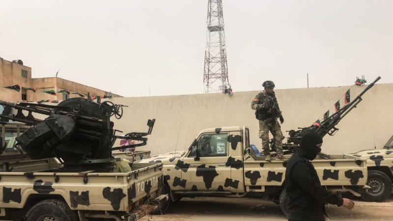 叛亂將領閃電突擊首都 利比亞處險境
