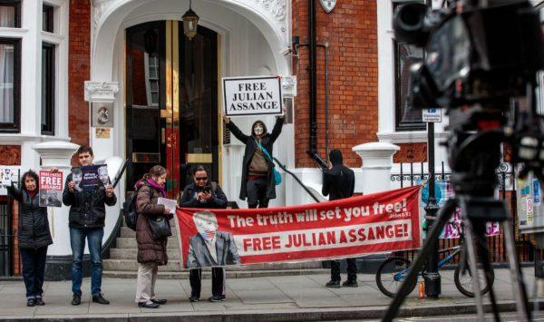 传维基解密创办人将被逐出厄国使馆