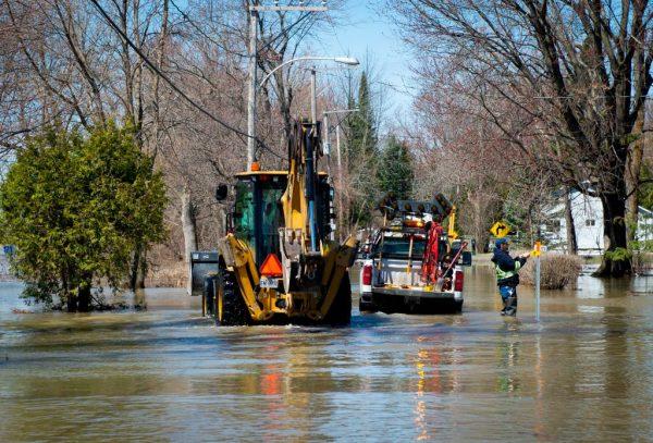 春季洪患肆虐 渥太华蒙特娄宣布紧急状态