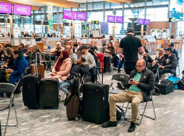北歐航空機師大罷工 影響旅客約28萬名