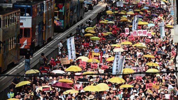 香港十三萬人抗議 「送中條例」是在為一國兩制「送終」 台灣民眾需驚醒
