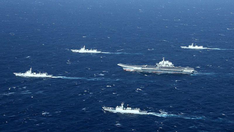 反击超限战 美:将视中共海警与民兵船为军舰