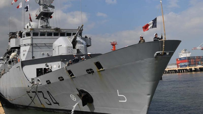 法舰穿台海或引发带头效应 中共恼怒撤阅兵邀请