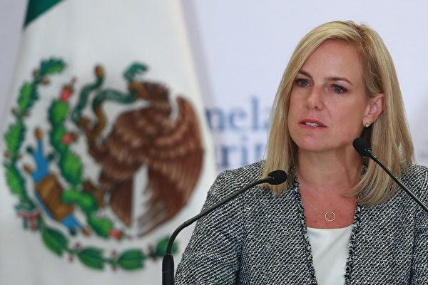 美國土安全部長離職 新任對非法移民更強硬