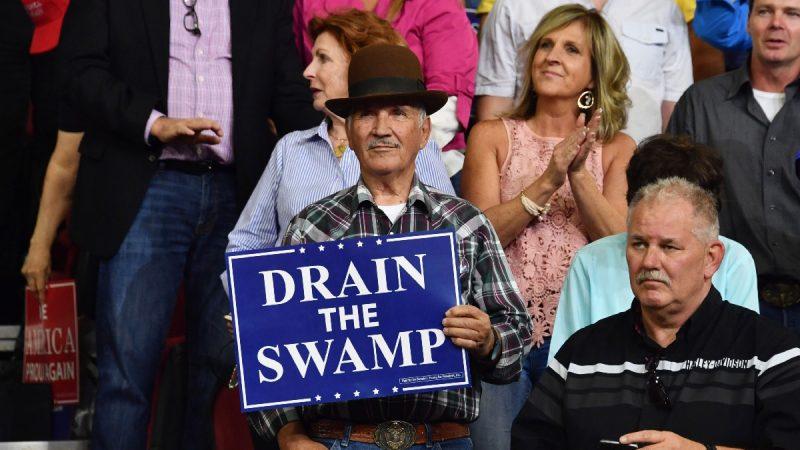 """自身做起""""排干沼泽"""" 川普选战设严格道德标准"""