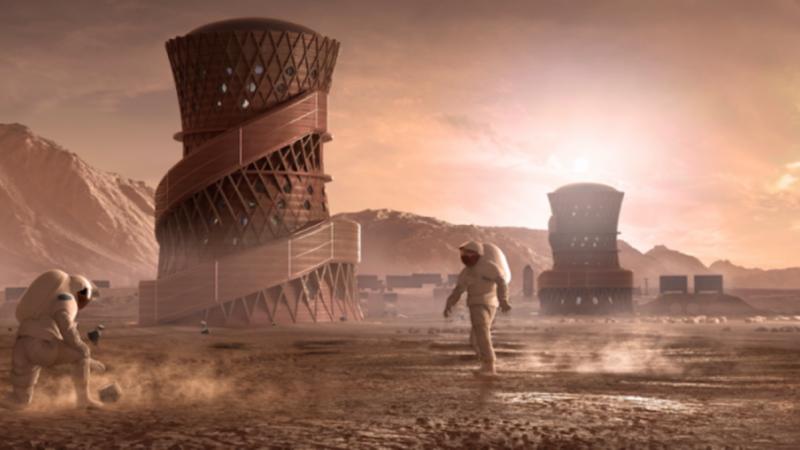 火星栖息地设计大赛结束 NASA公布评选结果