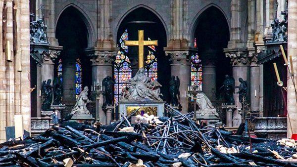 巴黎聖母院火災盤點:最珍貴文物倖免於難(多圖)