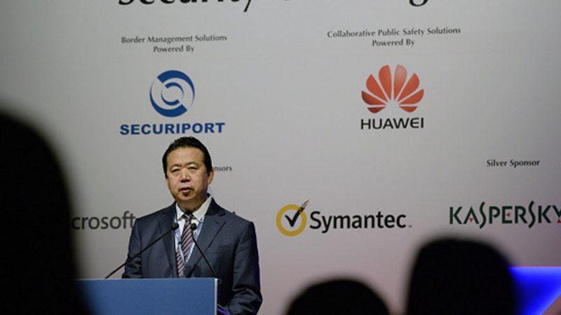 北京決定逮捕孟宏偉 不提一重要職務
