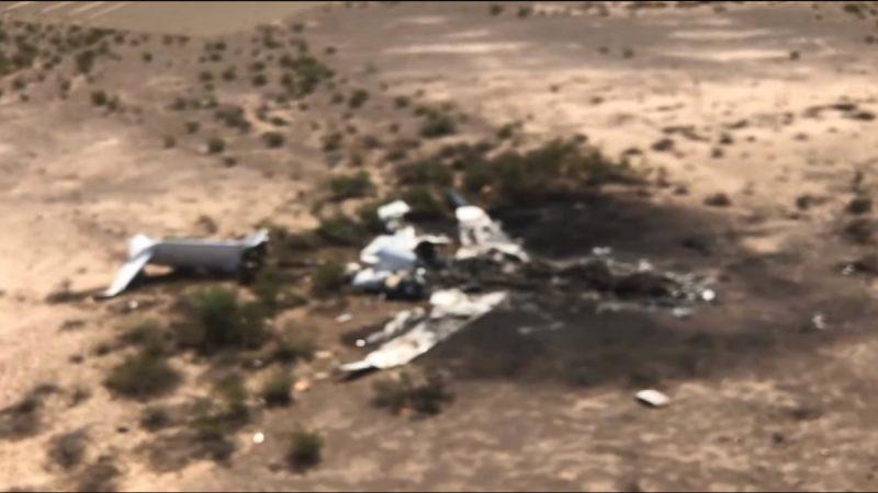 私人飞机坠墨国北部 残骸焦黑13人全罹难