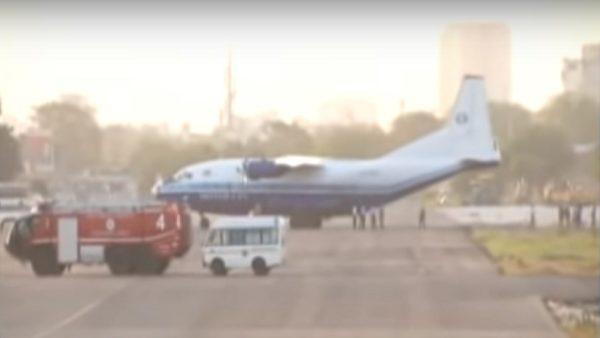 乔治亚货机从巴基斯坦空域闯入  印度战机拦截迫降