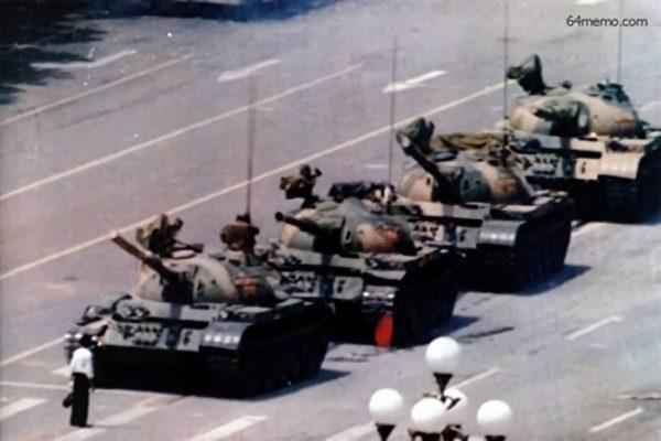 六四坦克人摄影师自述 差点在天安门丢命