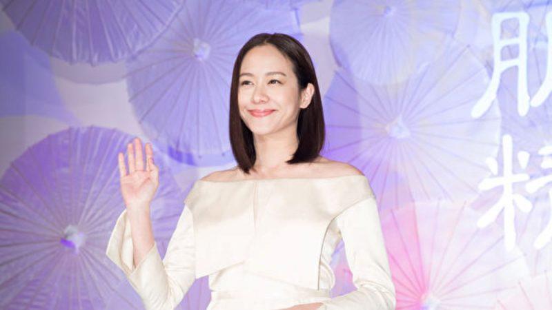 林嘉欣分享冻龄秘笈:导演丈夫常送惊喜
