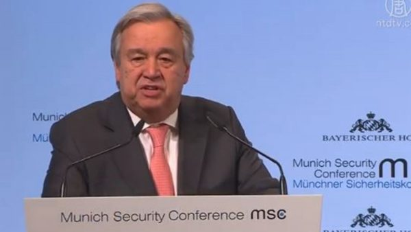 联合国秘书长未公开提人权 被批软弱