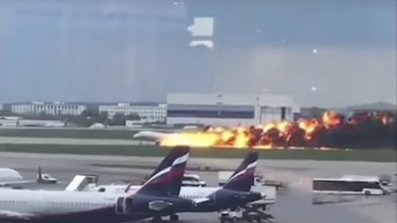 俄客機迫降釀41死 檢調認為機師失誤所致