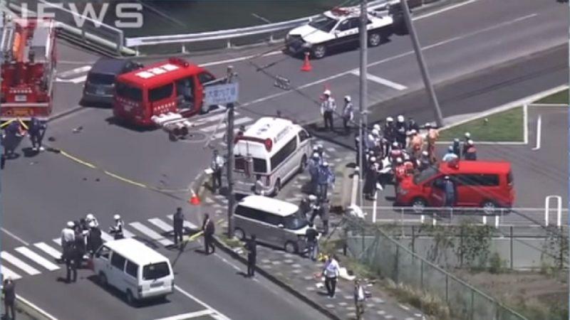 日本滋贺县2车相撞 波及路旁幼稚园师生酿2死